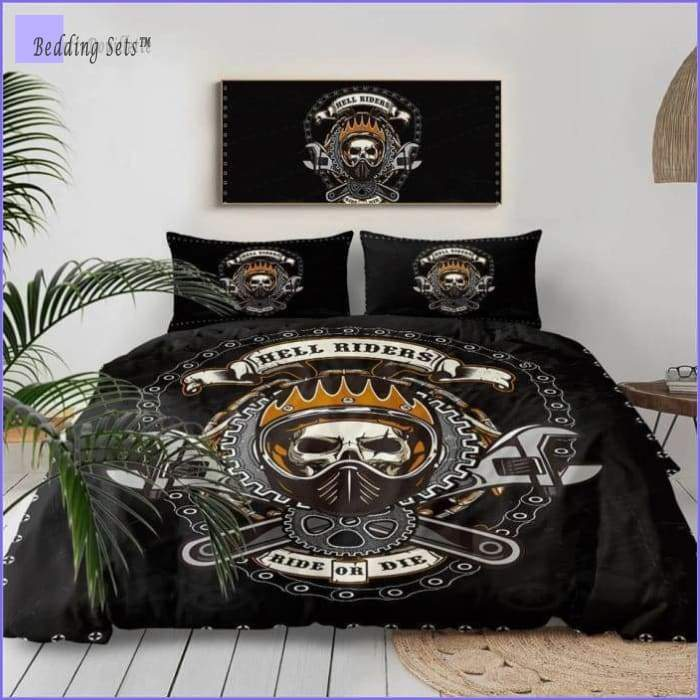 Motorcycle Bedding Set - Crew - Bedding-Sets™