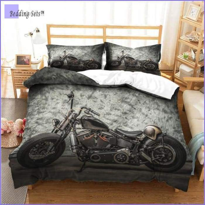 Motorcycle Bedding Set - Mechanic