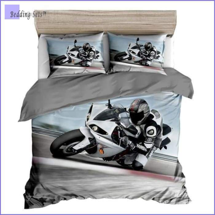 Motorcycle Bedding Set - Moto GP