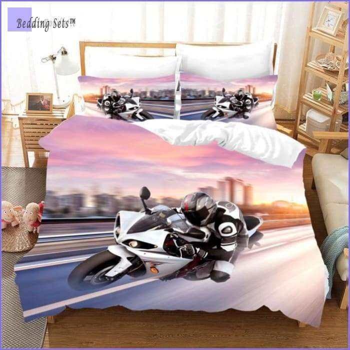 Motorcycle Bedding Set - Race Driver