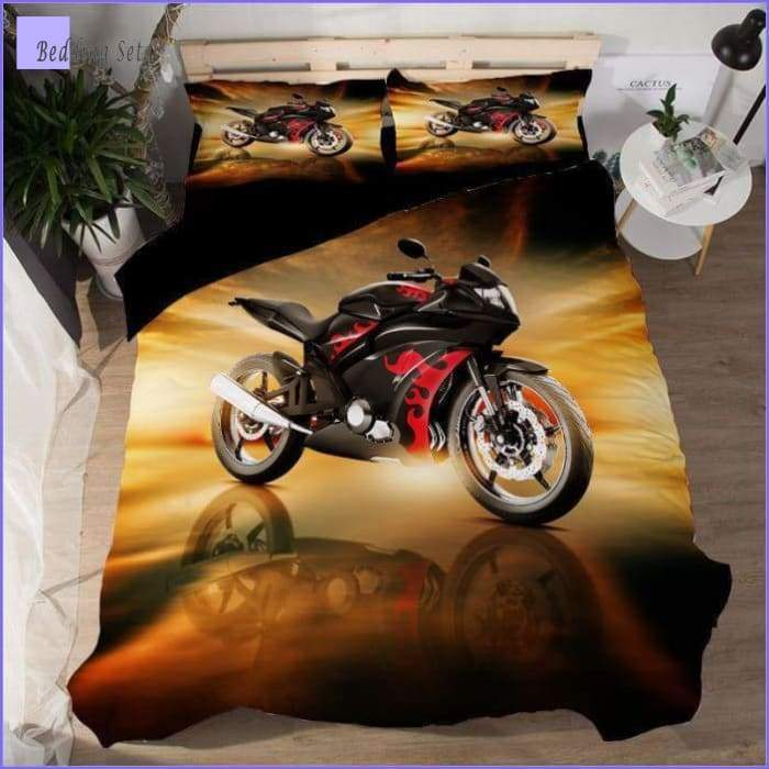 Motorcycle Bedding Set - Roadster