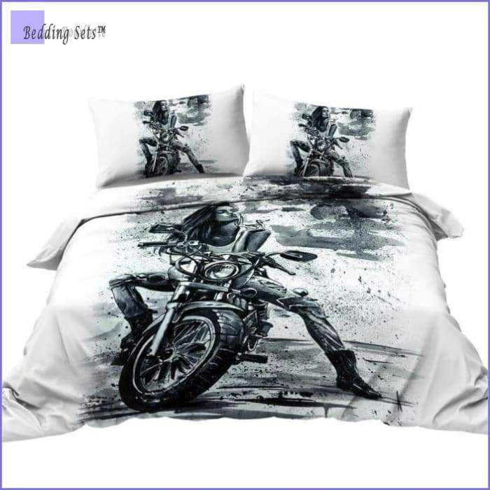 Motrocycle Bedding Set - Life Style