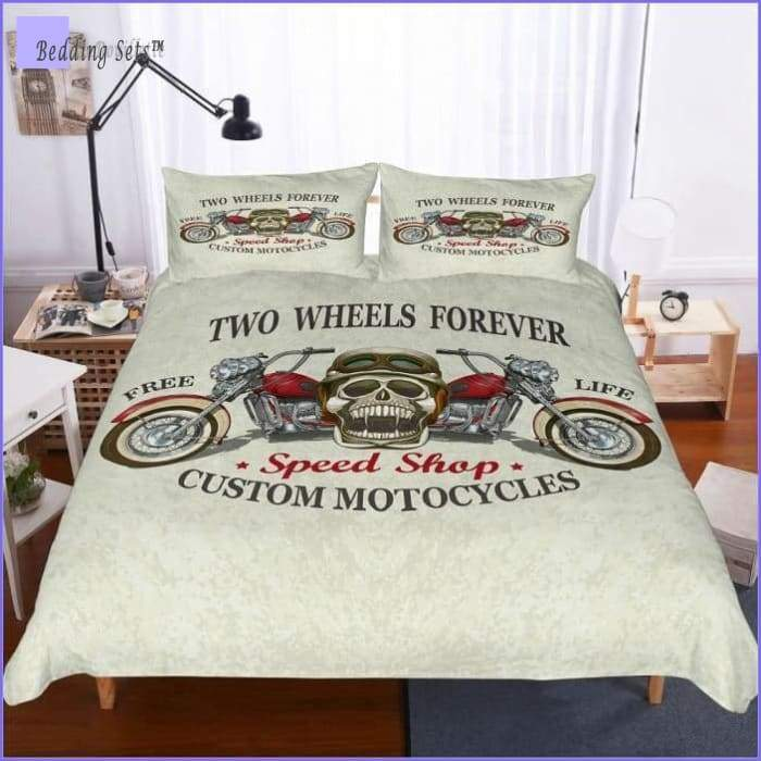 Motrocycle Bedding - Two Wheels