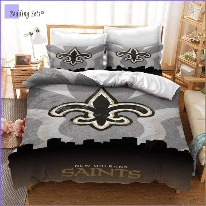 New Orleans Saints Bedding Set