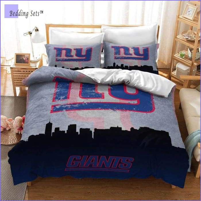 New York Giants Bedding Set