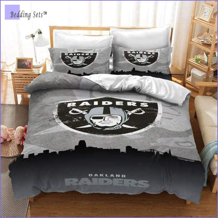 Oakland Raiders Bedding Set
