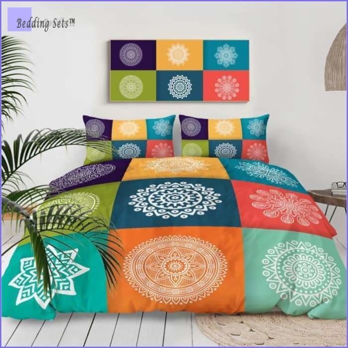Queen Bedding Set Boho