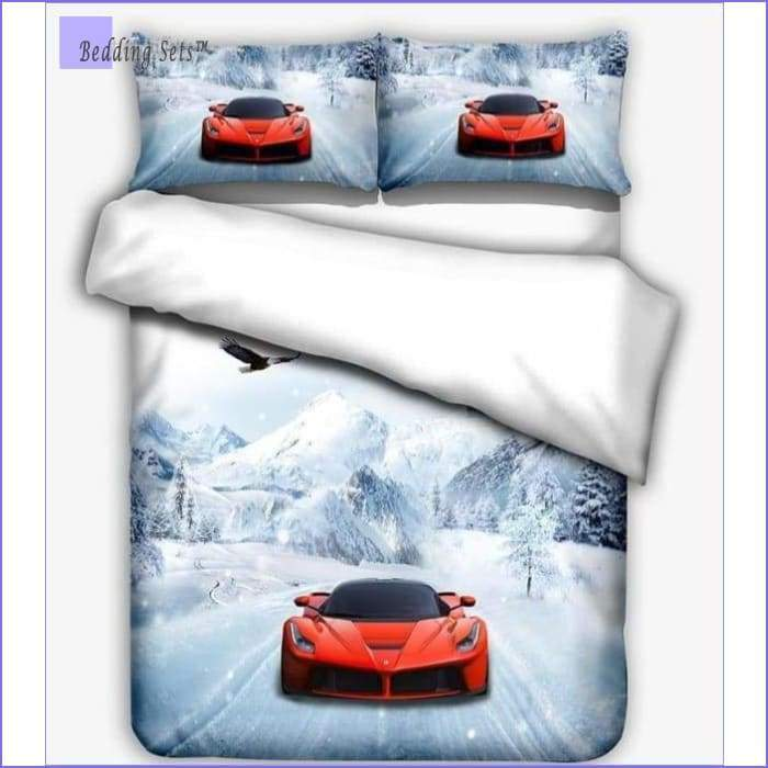 Race car Bedding - on Ice