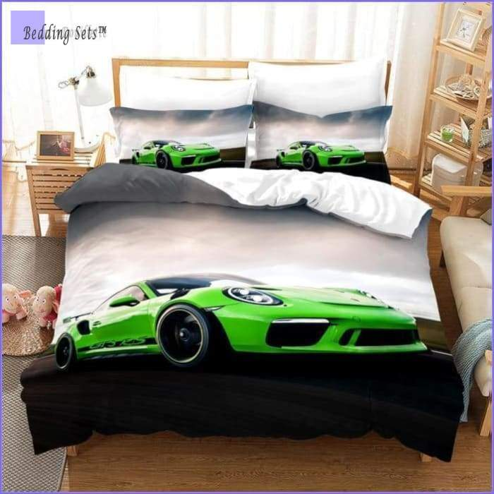 Race Car Comforter Set Full