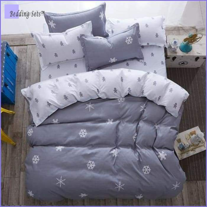 Scandinavian Bedding - Snowflake