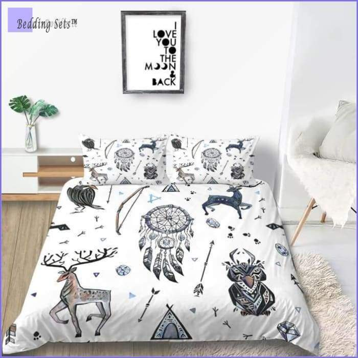 Scandinavian Dream Catcher Bedding