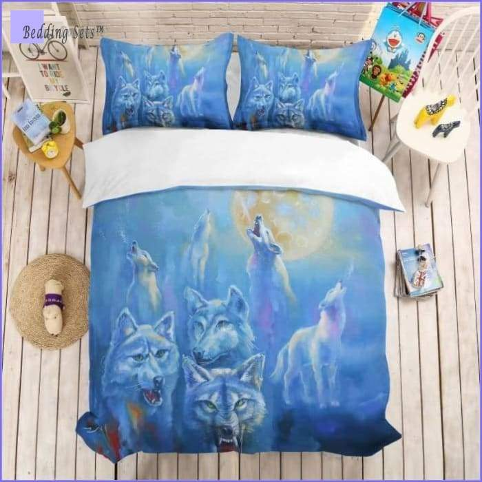 Sled Dog Bedding Set