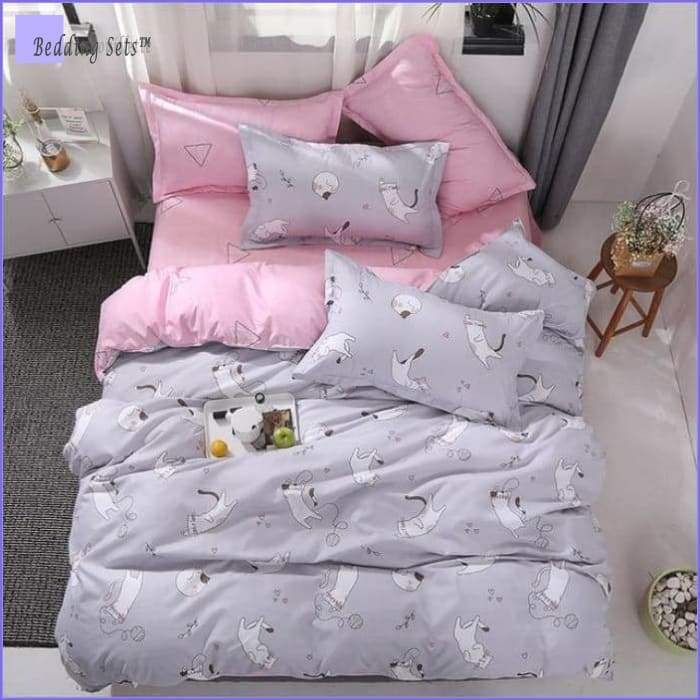 Twin Size Cat Bedding
