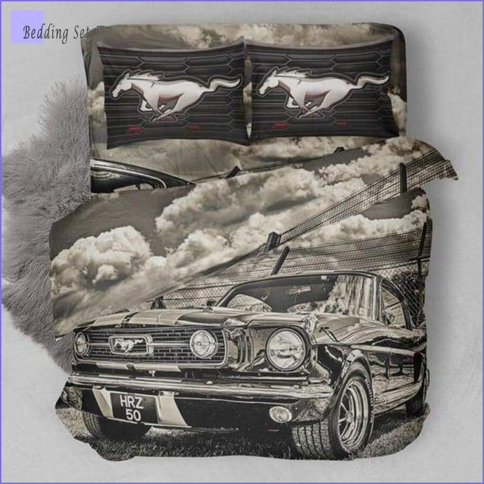 Vintage Car Bedding - GT