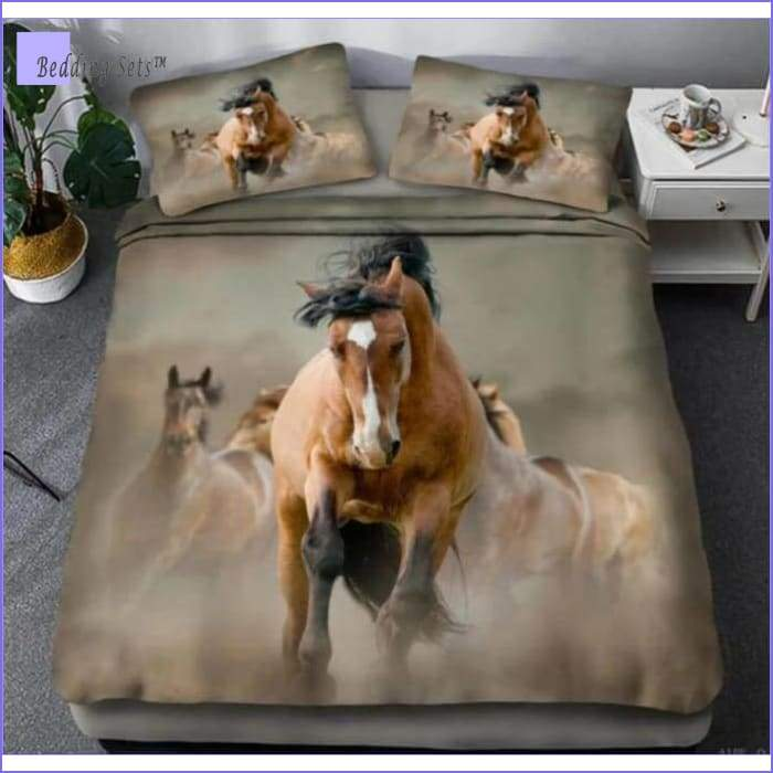 Wild Horse Bedding Set
