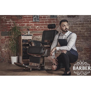 Denim Barber Apron