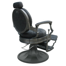 Load image into Gallery viewer, Vintage Barber Chair CLINT Black