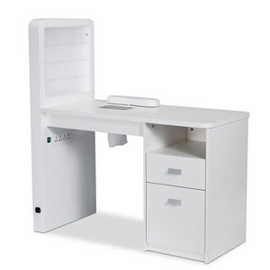 Manicure Table MARION with Dust Extractor and LED Lighting