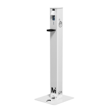 Load image into Gallery viewer, Foot Operated Sanitizer Dispenser - White