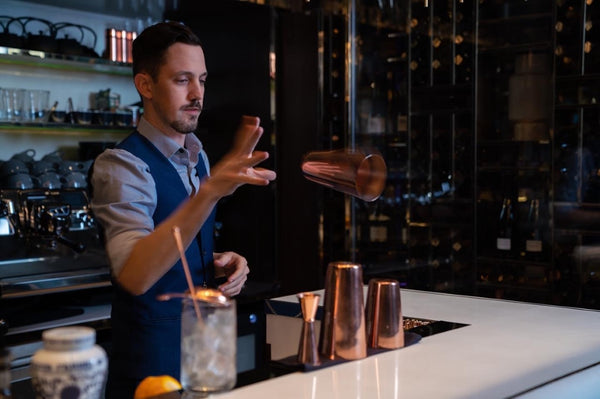 Hilton Star Raven Rudolph shares his non alcoholic Pina Colada recipe with Drink Dry