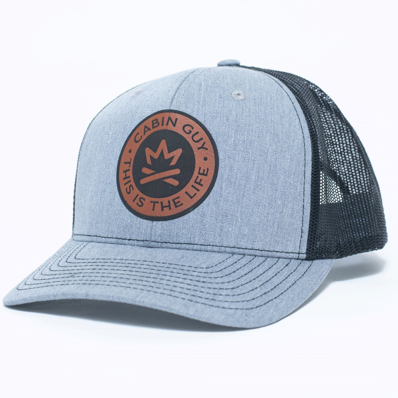 Garrison Fire Crown 'This is the Life' Patch Cap