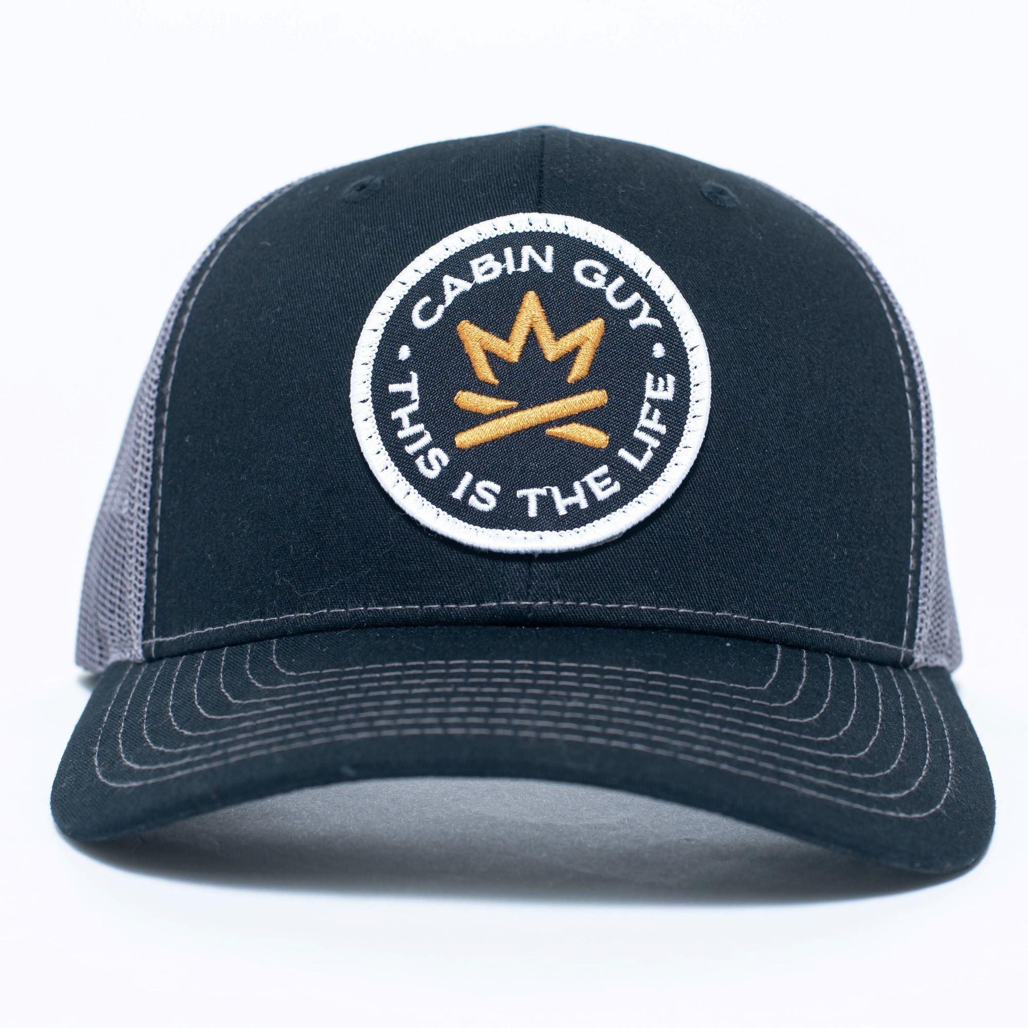Adirondack Fire Crown 'This is the Life' Woven Patch Cap