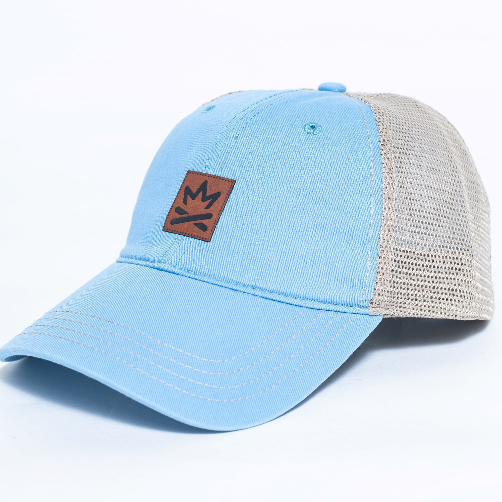 Fire Lake Patch Hat - Cabin Guy on back