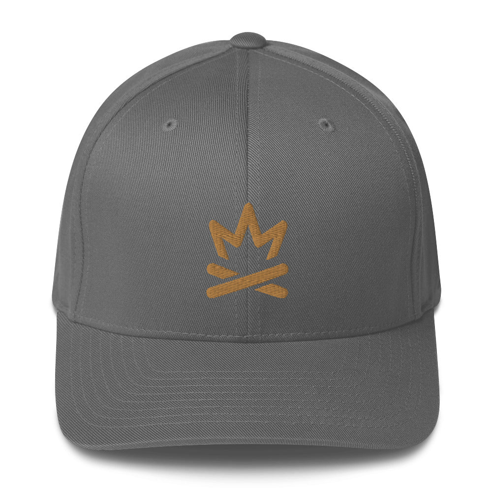 Fire Flexfit Cap -  Cabin Guy on back