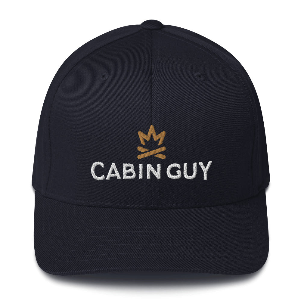 Cabin Guy Flexfit Twill Cap - ESTD 1984 on back