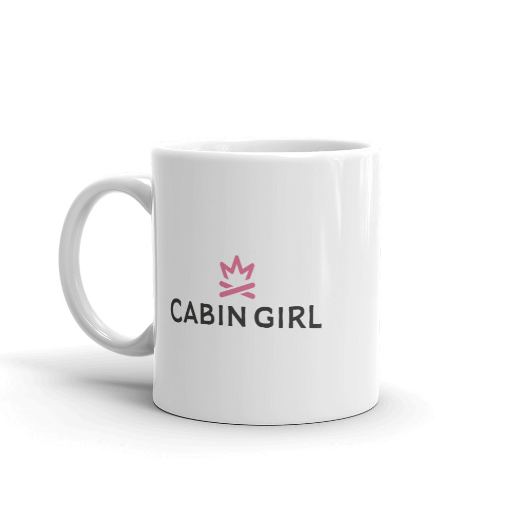 Big Pine Cabin Girl Lake Mug