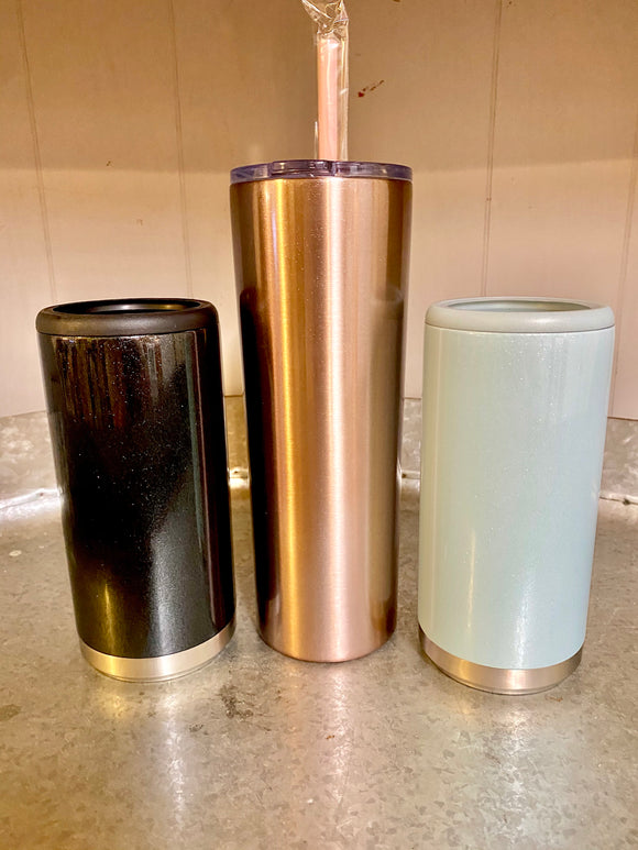 Rose Gold Steel Tumbler