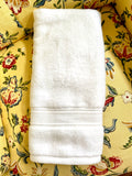 Embroidered Chinoiserie Ginger Jar Towel