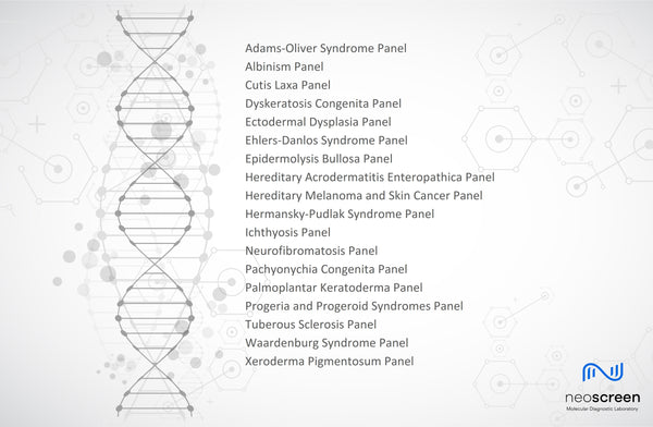 Genetic Skin Disorders: 18 New Gene Panels
