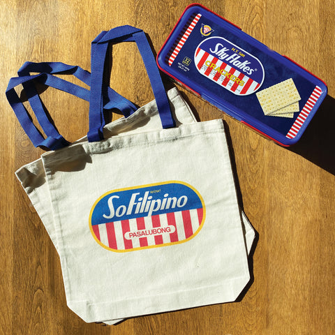 So Filipino tote bag