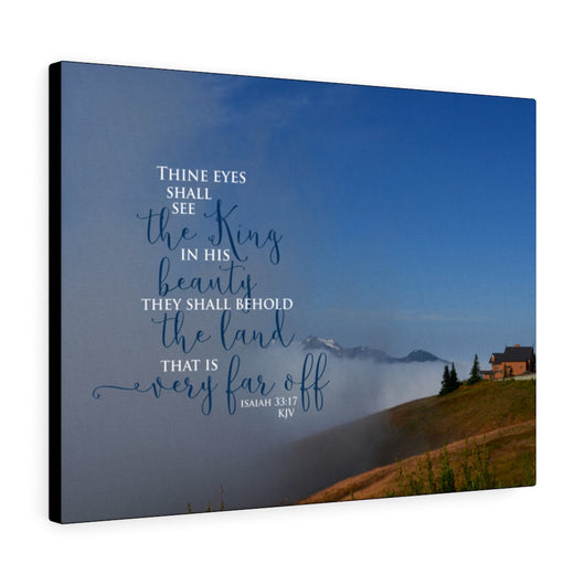 Clearing Fog Canvas Gallery Wrap