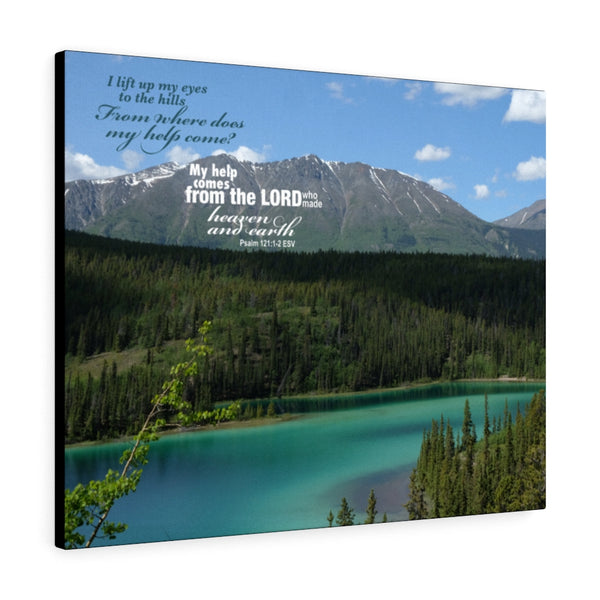 Emerald Lake Canvas Gallery Wrap