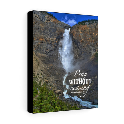 Majestic Waterfall Canvas Gallery Wrap