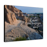 Badlands Ridge Canvas Gallery Wrap