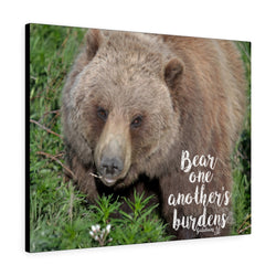 Grizzly Bear Canvas Gallery Wrap