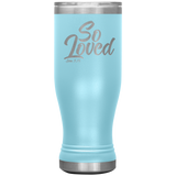 """So Loved"" Boho 20oz Tumbler"