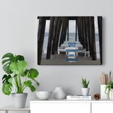 Ocean Pier Canvas Gallery Wrap