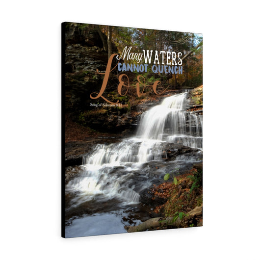 Waterfall Canvas Gallery Wrap