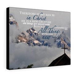 Mountain Church Canvas Gallery Wrap