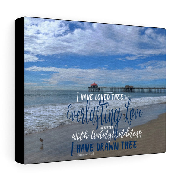 California Beach Canvas Gallery Wraps