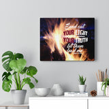 Dancing Fire Canvas Gallery Wrap