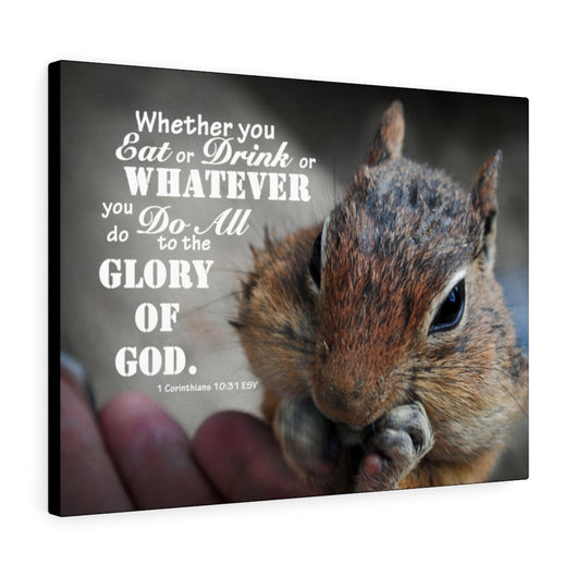 Chipmunk Canvas Gallery Wrap