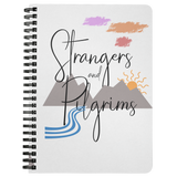 """Strangers and Pilgrims"" Notebook"