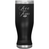 """Love Like Jesus"" Boho 20oz Tumbler"