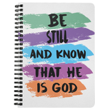 """Be Still and Know"" Notebook"