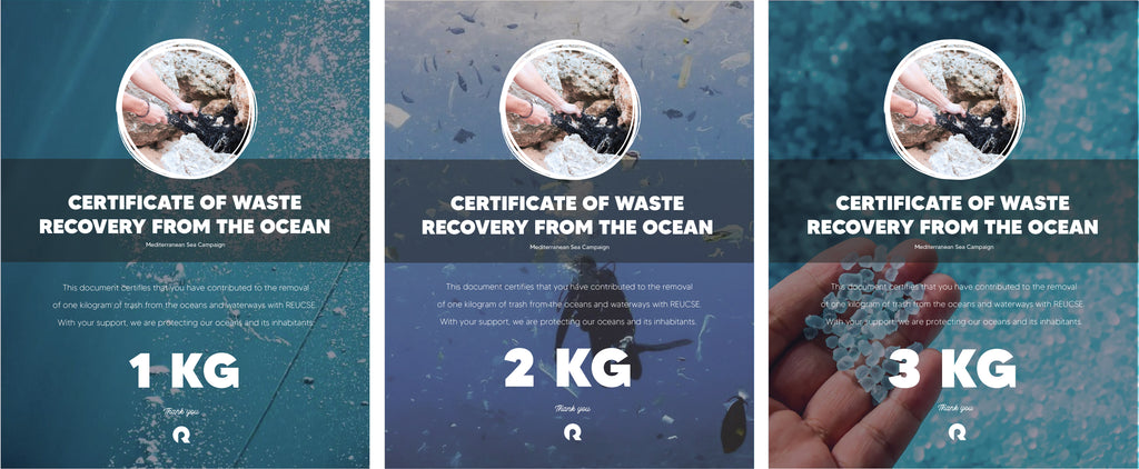 certificate trash recovery from ocean reucse